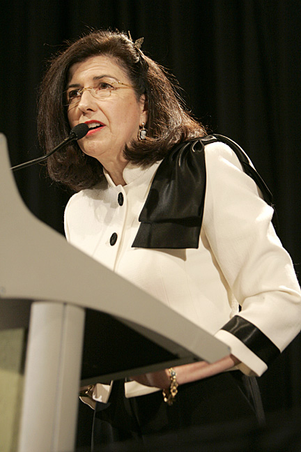 Ellen A. Roth, Ph.D. receives the 2009 YWCA Tribute to Women Leadership Award in the category of Entrepreneur.