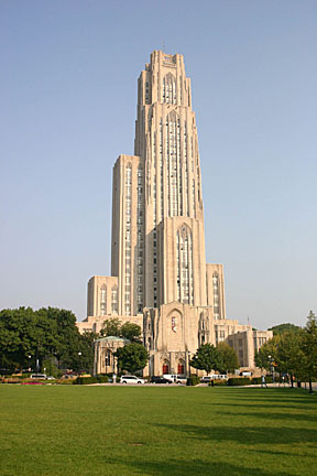 University of Pittsburgh's Cathedral of Learning